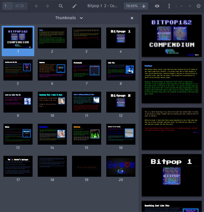 Bitpop 1 & 2 Compendium